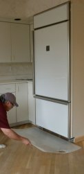 Appliance Wood Floor Protection