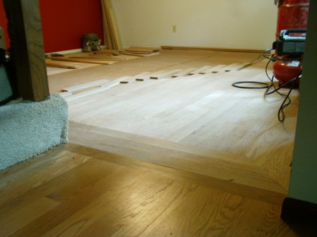 Dining Room Wood Floor Design in Progress