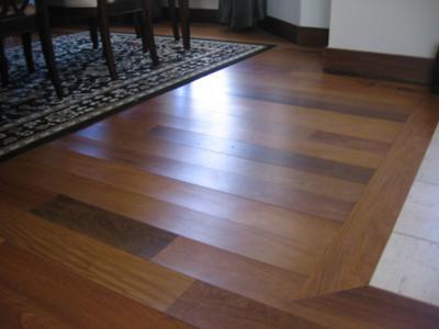 Brazilian Walnut Wood Floor Water