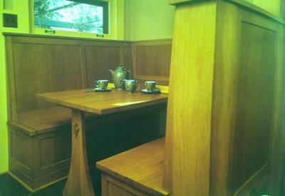 White Oak Craftsman Style Built Ins