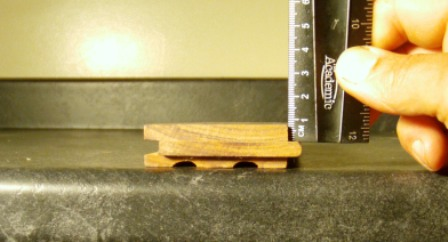 Ruler measures 1/4