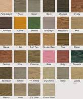 Monocoat color chart