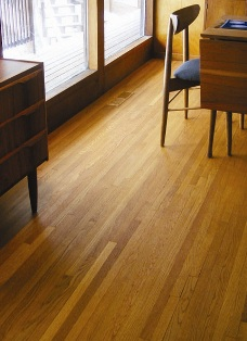 Monocoat on dining room floor