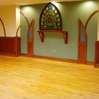 Salvaged Flooring Finished in Bethlehem Baptist Church